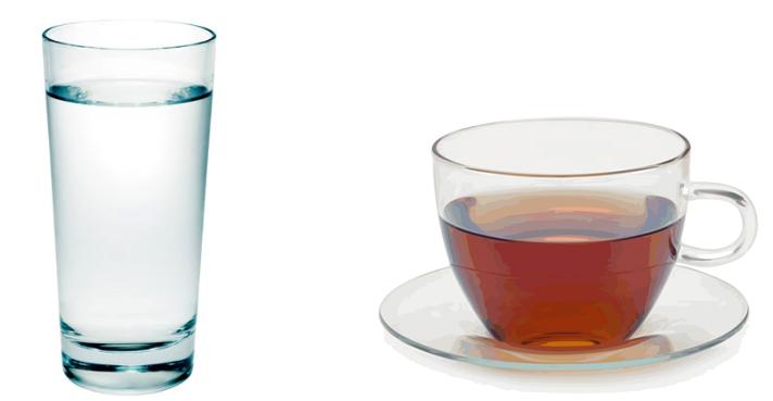 Вода и чай