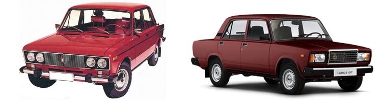 ВАЗ 2106 и ВАЗ 2107