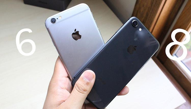 Айфон 6 и 8