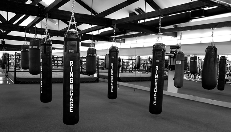 Боксерский зал