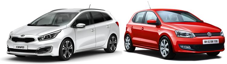 KIA cee'd и Volkswagen Polo