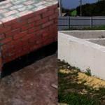 Что лучше цоколь из кирпича или бетона: сравнение и выбор