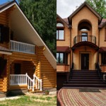 Какой дом лучше из бруса или кирпича: сравнение и характеристики