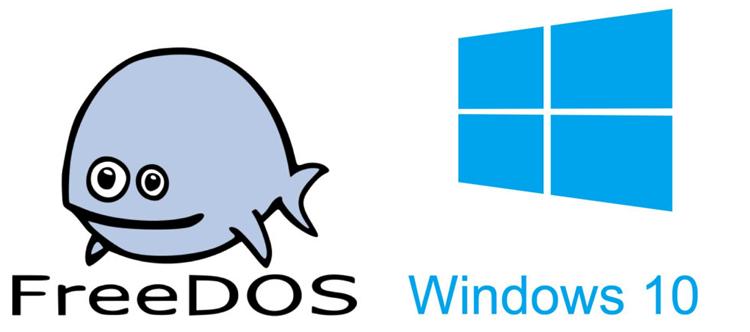 FreeDOS и Windows 10
