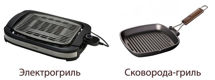 Электрогриль и сковорода-гриль