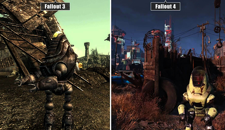 Fallout 3 и Fallout 4