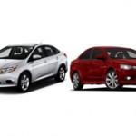 Ford Focus и Mitsubishi Lancer — чем отличаются автомобили и что лучше