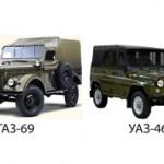 Что лучше ГАЗ-69 или УАЗ-469: особенности и отличия