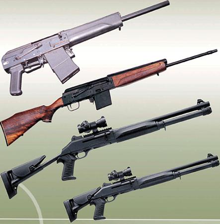 Гладкоствольное огнестрельное оружие