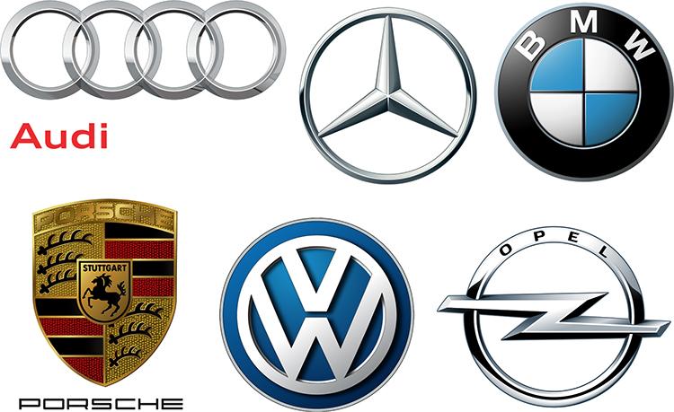 Марки немецких автомобилей