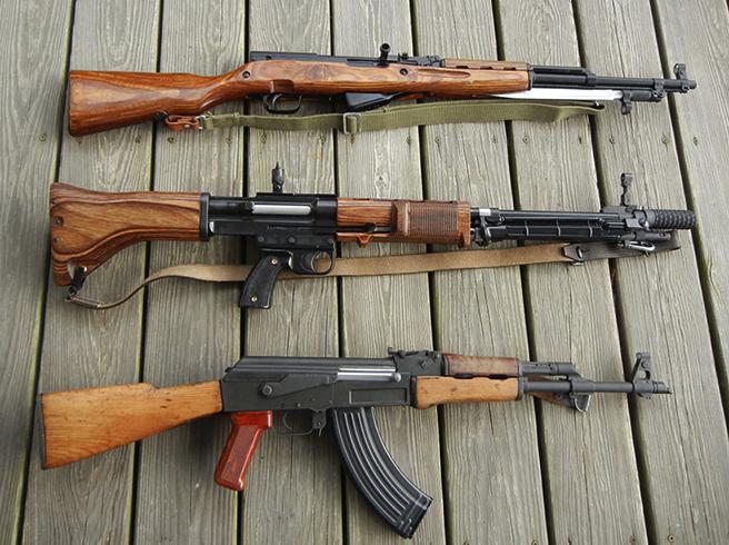 Нарезное огнестрельное оружие