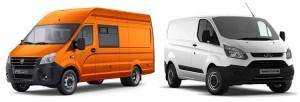 ГАЗель NEXT и Ford Transit