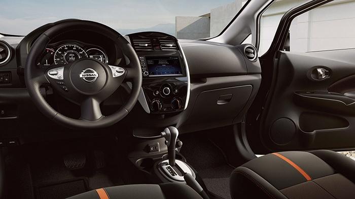 Салон Nissan Note