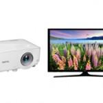 Что лучше купить проектор или телевизор?