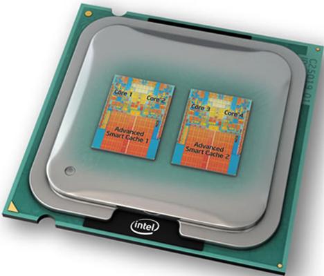 Четырехъядерный процессор