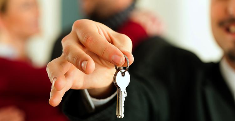 Человек с ключами