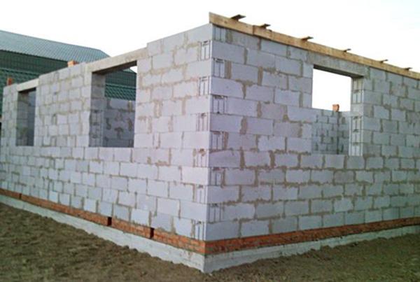 Строительство дома из твинблоков