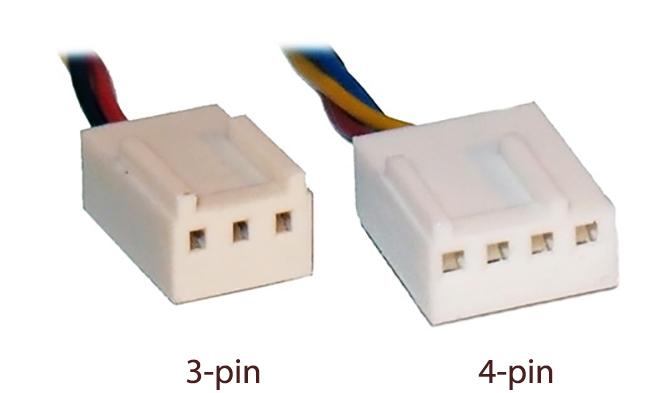3 и 4 pin