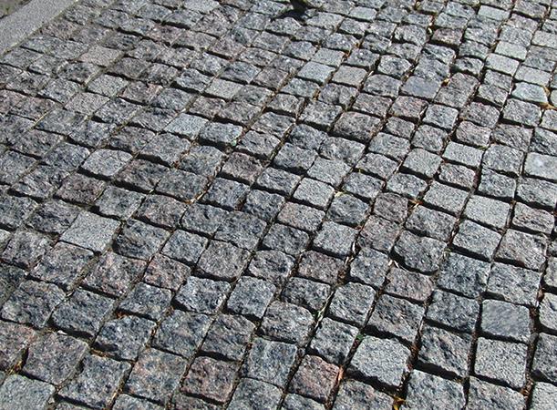 Каменная брусчатка