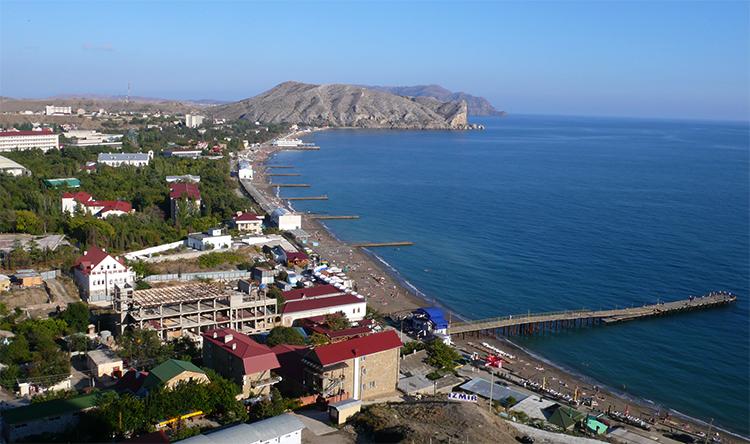 Побережья Крыма