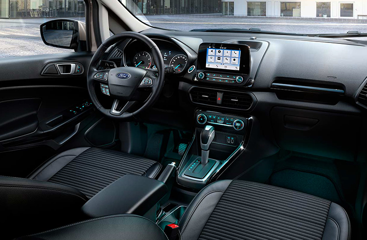 Салон Ford EcoSport