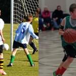 Футбол или баскетбол — куда лучше отдать ребенка?
