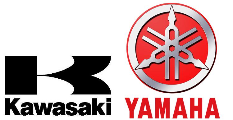 Кавасаки и Ямаха