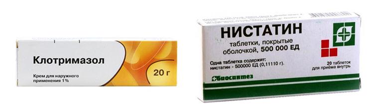 «Клотримазол» или «Нистатин»