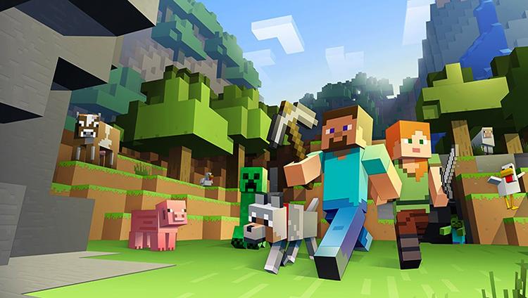 В игре Minecraft