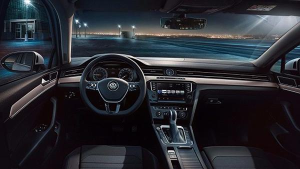 Салон Volkswagen Passat B8 2018