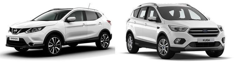 Nissan Qashqai и Ford Kuga