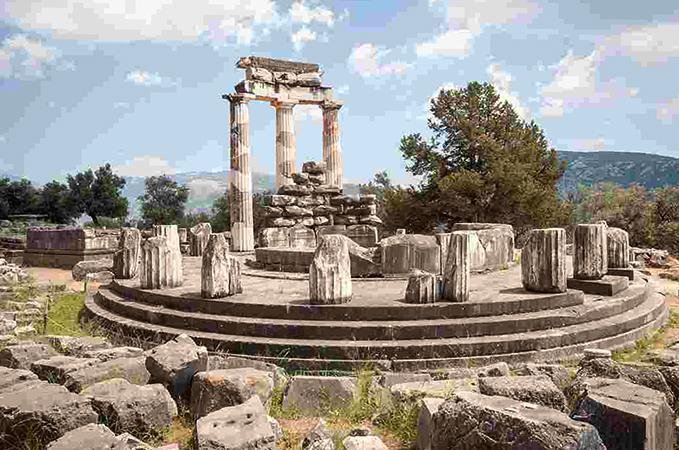Развалины в Греции