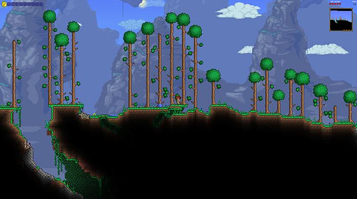 В игре Terraria