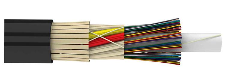 Вид оптического кабеля
