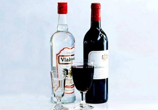 Водка и вино