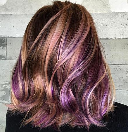 Волосы после колорирования