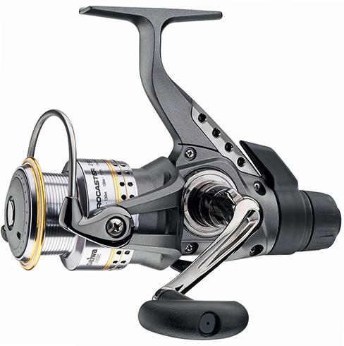 Рыболовная катушка с задним тормозом