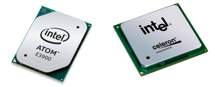 Intel Atom и Intel Celeron