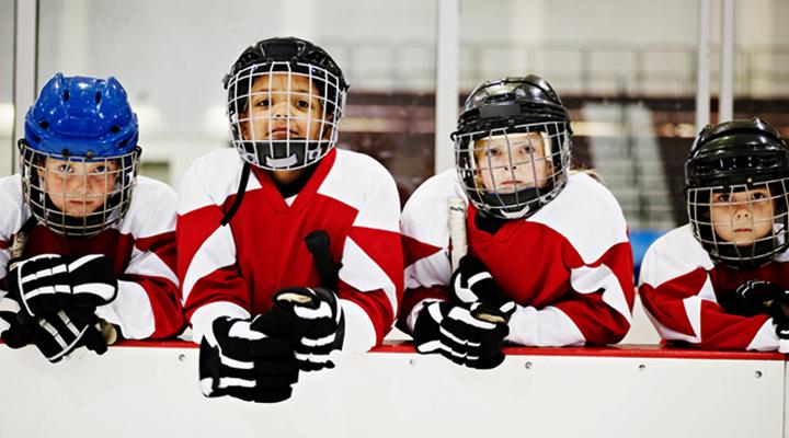 Дети хоккеисты