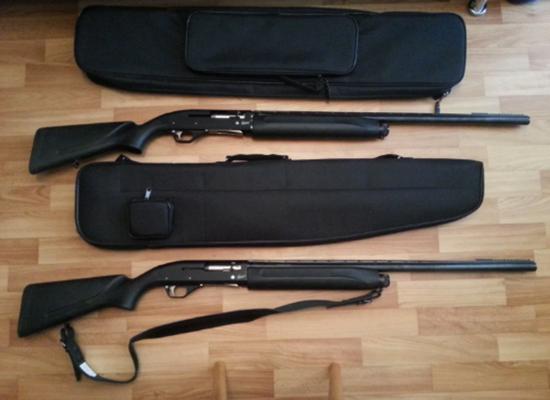 Два ружья МР-153