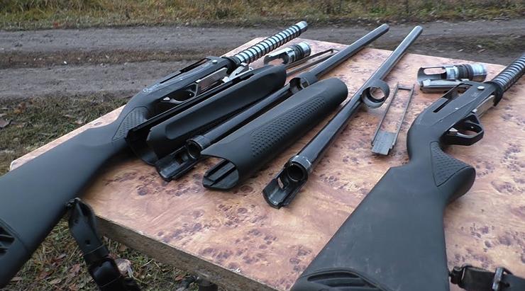 2 ружья МР-155
