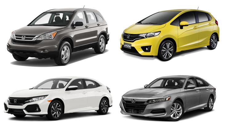 Автомобили марки Хонда