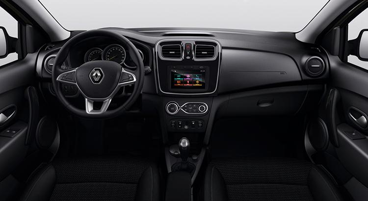Интерьер Renault Symbol