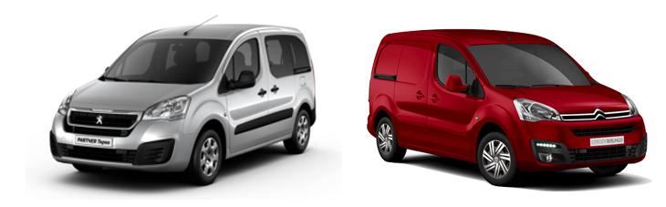 Peugeot Partner и Citroen Berlingo