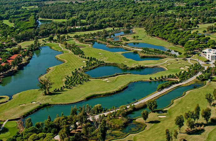 Поле для гольфа в Белеке