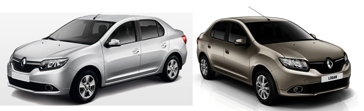 Renault Symbol и Logan