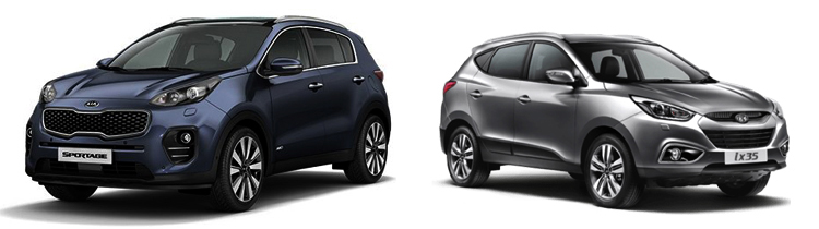 KIA Sportage и Hyundai ix35