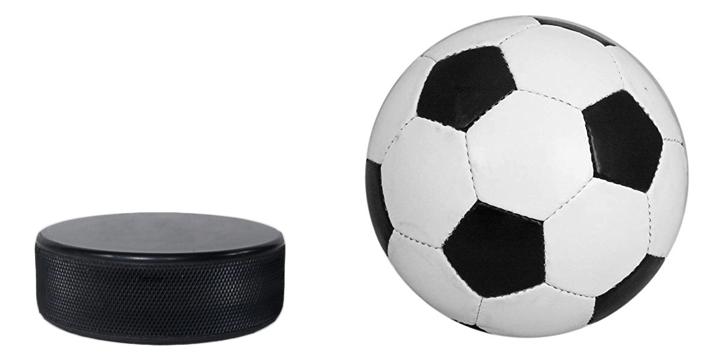 Шайба и мяч