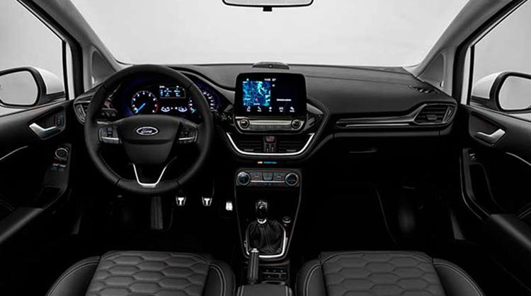 Салон Ford Fiesta