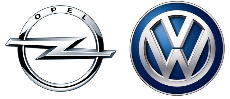 Opel и Volkswagen